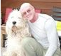 Ken Wilber and his dog