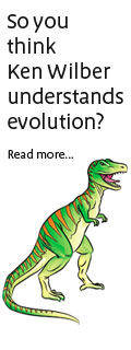 Ken Wilber Understands Evolution?