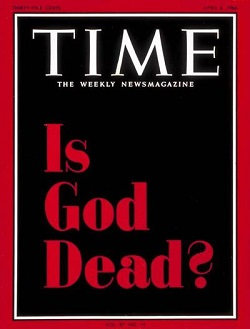 Time Magazine, Is God Dead?