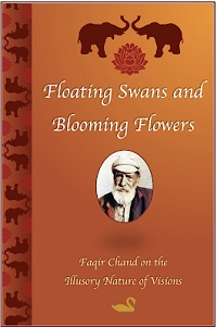 Floating Swans and Blooming Flowers