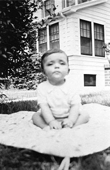 Adi Da as an infant, 1940
