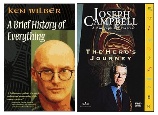 Ken Wilber and Joseph Campbell
