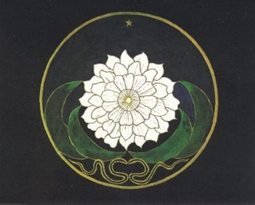 Golden Flower Mandala by Jung
