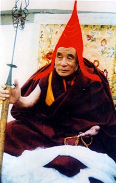 The great abbot Achö Rinpoche