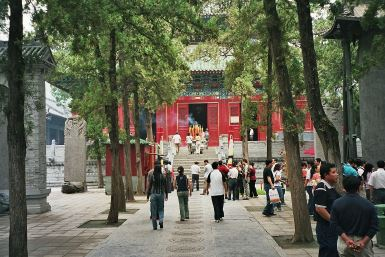 The Shaolin Temple, the origin of Chan/Zen