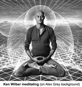 Ken Wilber in meditation