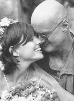 Ken Wilber and Marcia Walters at their wedding